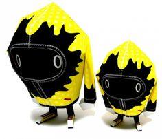 Blog papertoy Shin Tanaka Tboy1 Shin Tanaka : gourou du Paper Toy moderne