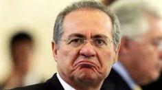 Renan Calheiros não quer largar o osso. Foto: internet/reprodução.    O ministro do Supremo Tribun...