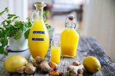 Enkelt ingefärsshot | Fredriks fika Healthy Candy, Healthy Drinks, Healthy Snacks, Juice Smoothie, Smoothie Recipes, Smoothies, Raw Food Recipes, Healthy Recipes, Anti Inflammatory Recipes