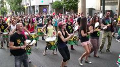 Quilombo (music group) at Athens Gay Pride 2013