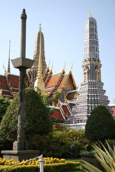Grand Palace, Krung Thep (Bangkok), Thailand.  The last time I was here was in 1986.