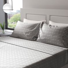 Atticus Daybed & Reviews | AllModern Rattan Daybed, Wood Daybed, Cotton Sheet Sets, Flat Sheets, Queen Size, All Modern, Love Seat, Bed Pillows