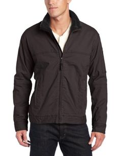 Prana Mens Bronson Jacket Charcoal Large ** For more information, visit image link.