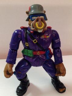 Teenage Mutant Ninja Turtles Military Series 2 TMNT 1992 Private Porknose Bebop