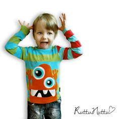 Mutturalla MööKö Boy Outfits, Play, Cool Stuff, Sewing, Children, Boys, T Shirt, Handmade, Inspiration