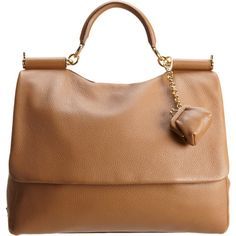 Miss Sicily Bag - Camel Handle bag. with little change purse attached. Cute