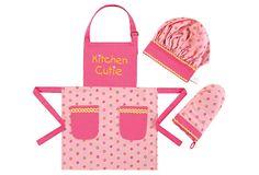 Children's Apron Set, Cutie on OneKingsLane.com