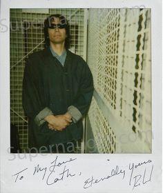 Richard Ramirez Polaroid taken on death row signed – Supernaught