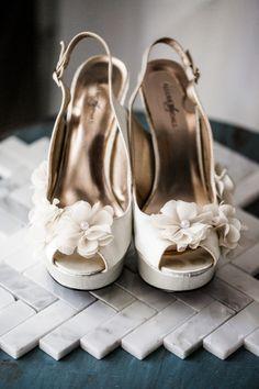 Pretty wedding heels