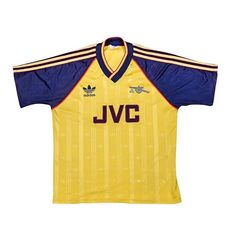 "09cfe792220f4d Football Shirt Collective on Instagram: ""1988-91 Arsenal away x Adidas 👌  Link in bio 🛒"""