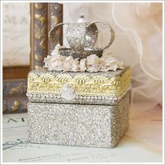 Crown Jewelry Box | A Gilded Life