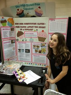 Do you know about the science of cupcakes? Carrie Berk, author of the Peace, Love and Cupcakes book series did a science project on the effe...