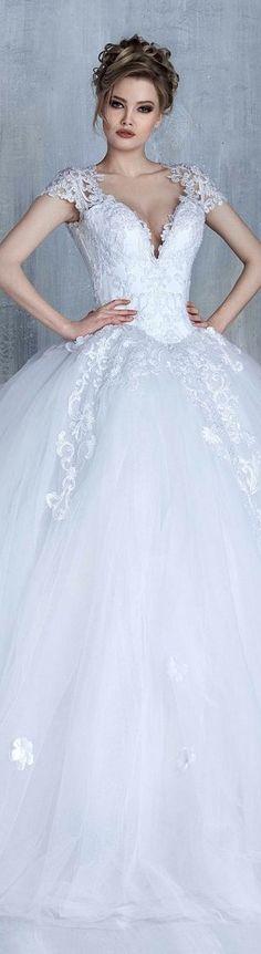 e5090bc6d2 Tony Chaaya bridal 2016 Beautiful Wedding Gowns