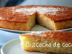 Bizcochuelo Recipe with 3 eggs - Recipes Cook No Bake Desserts, Delicious Desserts, Yummy Food, Healthy Food, Cooking Time, Cooking Recipes, Diabetic Cake, Cake Recipes, Dessert Recipes