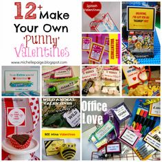 michelle paige: Make Your Own Pun Valentines