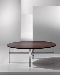 The Lisa table, slim and minimalist, is an elegant addition to any space. Its stainless steel leg construction achieves an interesting balance of grace and strength. A choice of top materials offers great creativity in personalizing the design. Dining Chairs, Dining Table, Craft Desk, Lakefront Homes, Occasional Tables, Table Furniture, Coffee Tables, Strength, Lisa