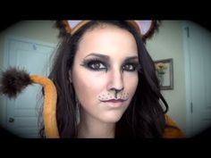 """Like the deer, """"Cute Lion"""" makeup can be done from cosmetics you already own. Watch the tutorial here."""