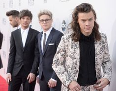 One Direction's best facial expressions from the AMAs red carpet