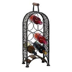Benzara 69833 23 po H x 10 po W Métal Wine Rack
