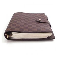 LOUIS VUITTON Damier mm agenda. I am buying this next week. So excited.!! I will tale this with me everywhere.