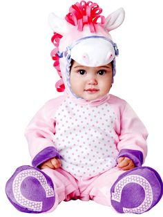 Girl's Toddler Pretty Lil Pony Costume | Wholesale Animal Costumes for Infants & Toddlers