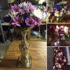 Sneak Peek of Rustic June Wedding!   Floral Arrangements, Boutonnieres, & Centerpieces by: Blossom & Branch Designs, Inc.