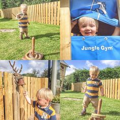Jungle Gym around the world 🌍 A sunny gap between rain storms is all we need to get out into the garden.  Old School toys vs. New School toys today. #hoopla #hooplah #junglegym #conspicuousproductplacement #showers #scottishweather #scottishsummer #deerbell #peeking #bluesky #blueskies #cutekidsofinstagram #cutekid #cutekidfashion #toddlergram #toddlersofinstagram #getoutdoors #freshair