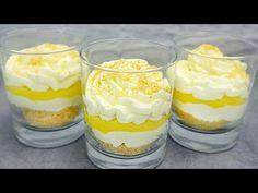 Dacă vă place lămâia, faceți acest minunat desert de lămâie # 271 - YouTube Lemon Desserts, Party Desserts, What To Cook, Cobbler, Cheesecake, Food And Drink, Pudding, Sweets, Cooking