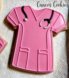 Part of today's project #nursecookies #scrubcookies #babycookies #nursethankyoucookies #cuneoscookies #itsagirl