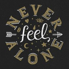 Never Feel Alone -From@katype.letters . . #pixelsurplus #typography #type #dailytype #thedailytype #typelove #typedesign #typematters #typeeverything #artoftype #inspiration #wordart #typespire #typegang #thedesigntip #goodtype #design #graphicdesign #typeface #designers #artist #fontdesign #fonts #neveralone #drawing #lettering #font