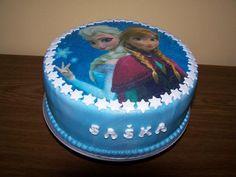 ľadové kráľovstvo s jedlou oblátkou | dorty od mámy