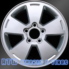 """Chevy Monte Carlo wheels for sale 2006-2007. 16"""" Silver rims 5070 - http://www.rtwwheels.com/store/?post_type=product&p=33016"""