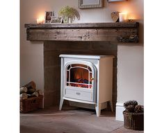 Dimplex Courchevel stove - like a wood burner only cleaner!