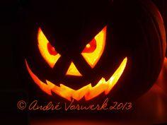 Halloweenkürbis 2013 Voderseite