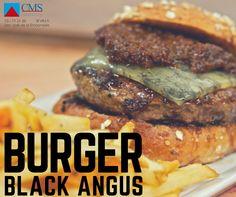"Hamburguesa Gourmet BLACK ANGUS bovina de raza ""Aberdeen Angus"" en 110 y 180 grs."