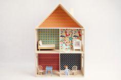 Wooden doll houses - traLALA - Zabawki i dekoracje dla dzieci