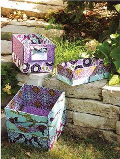 Stash Baskets Sewing Pattern