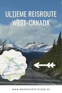 Dit is de ultieme reisroute door het westen van Canada. Ontdek de mooiste nationale parken, wildlife en Vancouver Island in drie weken met deze reisroute. Places Around The World, Around The Worlds, Canada Holiday, Vancouver, Travel Inspiration, Travel Ideas, Alberta Canada, Vacation Trips