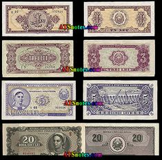 Romania banknotes - Romania paper money catalog and Romanian currency history Money Worksheets, Cali, Airplane, Catalog, Paper, Ferris Wheel, Money, Plane, Aircraft