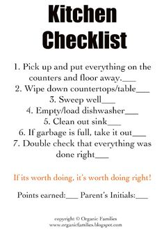Cleaning bedroom checklist for kids chore cards 31 New ideas Chore Checklist, Chore List, Cleaning Checklist, Cleaning Hacks, Cleaning Schedules, Weekly Cleaning, Organizing Tips, Organization Ideas, Household Checklist