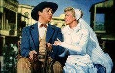 Doris Day and Howard Keel in Calamity Jane