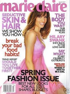 March 2007 cover with Hilary Swank