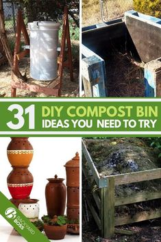 If you are interested in composting and a fan of DIY ideas then check out this article on different diy compost bin ideas You dont need a worm farm and can use the compos. Eco Garden, Garden Plants, Diy Garden Projects, Garden Tips, Pallet Projects, Garden Ideas, Worm Farm, Backyard Birds, Backyard Ideas