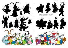 Bogyó és Babóca foglalkoztató | Bartos Erika Projects For Kids, Diy For Kids, Preschool Bible, Learning Activities, Minnie Mouse, Disney Characters, Fictional Characters, Snoopy, Printables