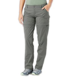 North Face WOMEN'S PARAMOUNT 2.0 CONVERTIBLE PANTS, size 8 long