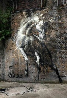 Unicorn street art :D