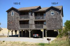 South Nags Head Vacation Rental: Eighteen South Unit F 18S-F   Pet Friendly Outer Banks Rentals
