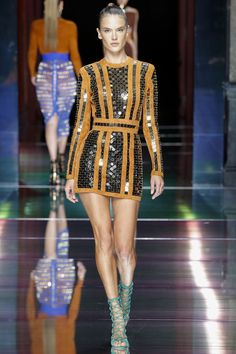 Balmain Spring 2016. See the entire collection on Vogue.com