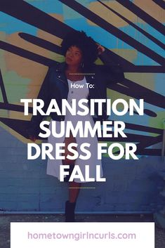 Fall outfit ideas.  Transition look