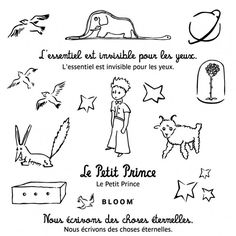 It Pièce : les tatouages éphémères du Petit Prince by Bloom                                                                                                                                                                                 Plus